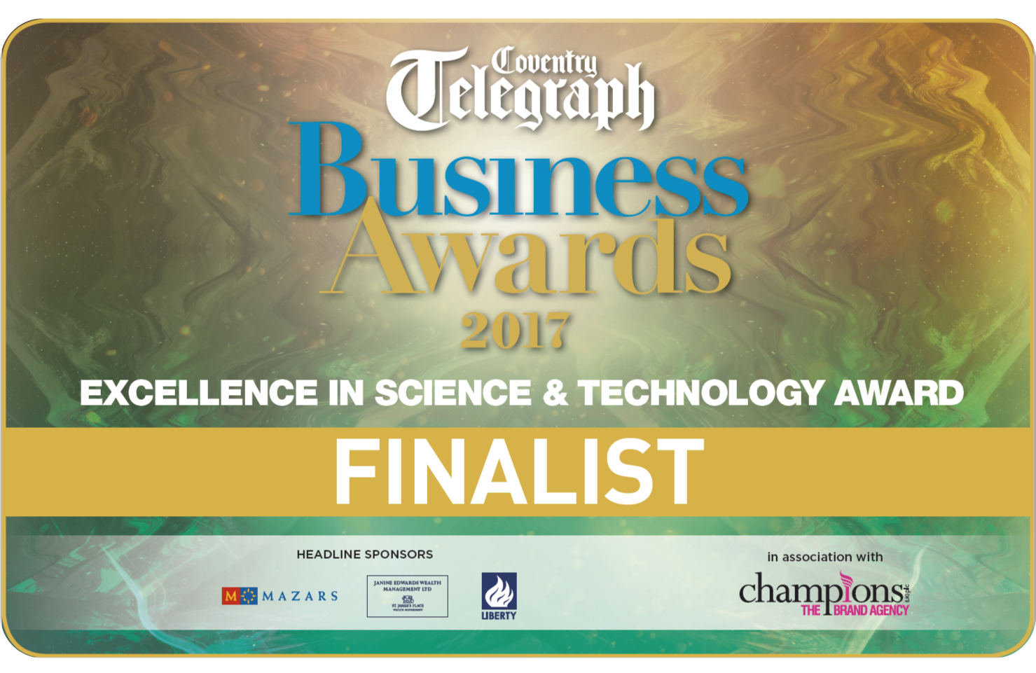 Coventry Telegraph Business Awards 2017