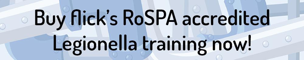 buy flicks rospa accredited legionella training