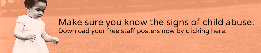 Free signs of child abuse - staff posters