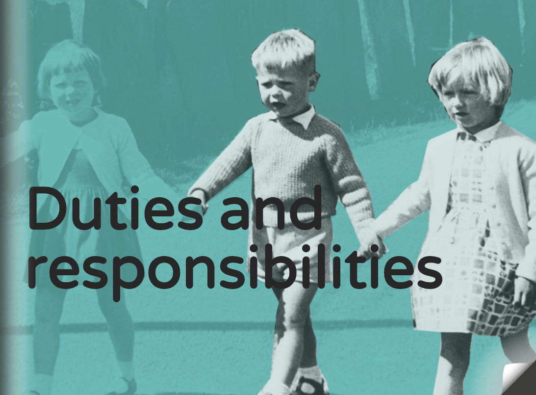 responsibilities of personal protection Responsibilities definition, the state or fact of being responsible, answerable, or accountable for something within one's power, control, or management see more.